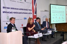 Powerful international forum brooded over the prospect of the development of agribusiness within Ukraine.