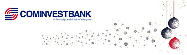 The bank's activity during Christmas and New Year holidays.